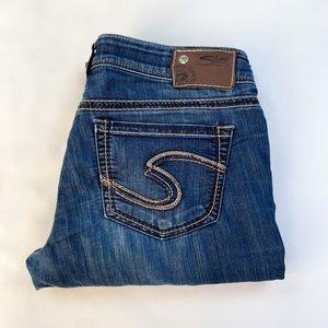 28x33 Suki Silver Jeans